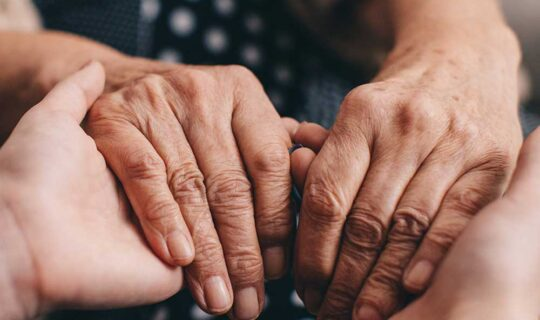 Let's talk – difficult conversations about dying, death and bereavement
